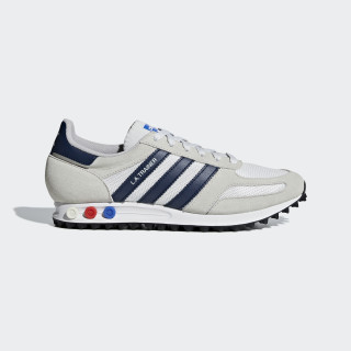 LA Trainer Shoes Beige / Collegiate Navy / Clear Brown B37829