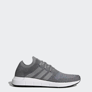 Swift Run Primeknit Shoes Grey / Grey / Cloud White CG4128