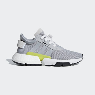 POD-S3.1 sko Grey Two / Grey Two / Shock Yellow B42056