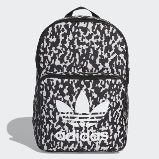 LEOFLAGE Classic Backpack Black/Clear Brown DX2018