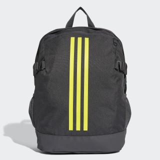 3-Stripes Power Backpack Medium carbon / shock yellow / shock yellow DM7681