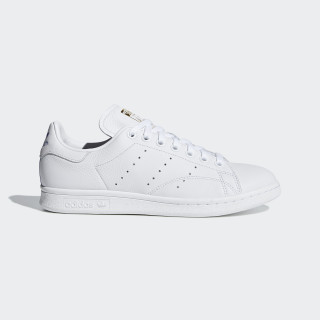 Sapatos Stan Smith Ftwr White / Real Lilac / Raw Gold CG6014