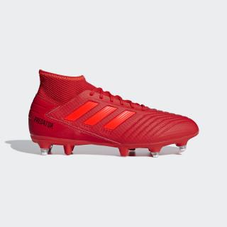 Bota de fútbol Predator 19.3 césped natural húmedo Active Red / Solar Red / Core Black D97958