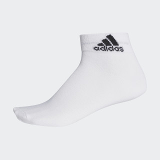 Meia Ankle Mid Thin WHITE/WHITE/BLACK AA2323