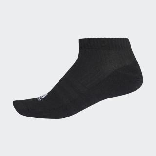 Meia Liner Cushion 3S BLACK/BLACK/WHITE AA2283