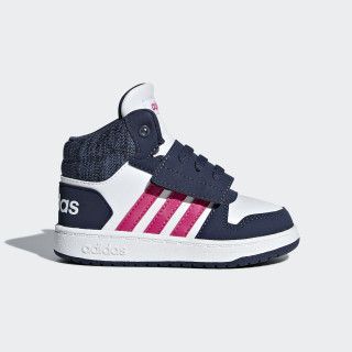Hoops 2.0 Mid Shoes Cloud White / Real Magenta / Trace Blue B75948