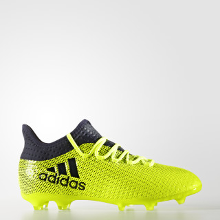 X 17.1 Firm Ground Boots Solar Yellow/Legend Ink S82297