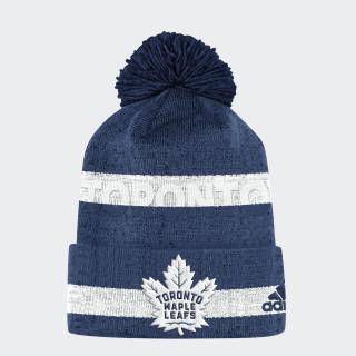 Maple Leafs Team Cuffed Pom Beanie Nhltml CX3127
