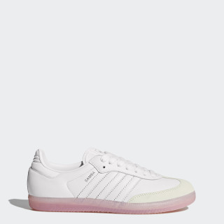 Sapatos Samba Footwear White/Footwear White/Easy Pink BY9240