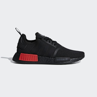 Sapatos NMD_R1 Core Black / Core Black / Lush Red B37618