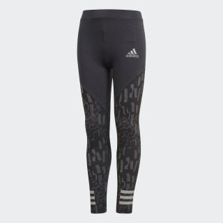 Training lange Tight Carbon / Grey Three / Reflective Silver DJ1460