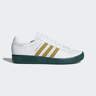 Buty Forest Hills Ftwr White / Gold Met. / Collegiate Green AQ0921