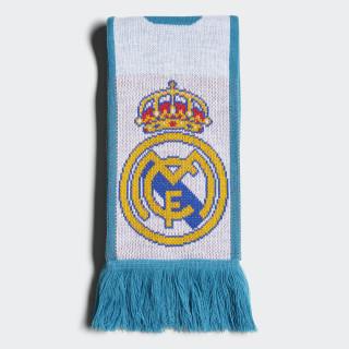 Bufanda del Real Madrid WHITE/VIVID TEAL S13 BR7170