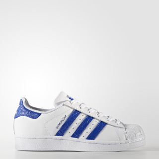 Tenis Superstar FTWR WHITE/BOLD BLUE/BOLD BLUE BZ0363