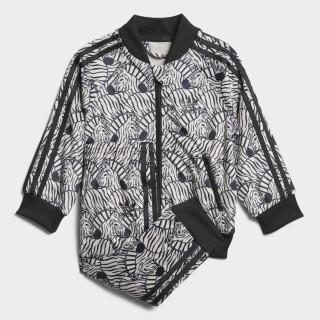 Track Suit Zebra SST Clear Brown / Black D98811