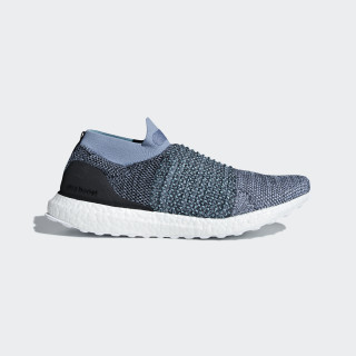 Zapatilla Ultraboost Laceless Parley Raw Grey / Carbon / Blue Spirit CM8271