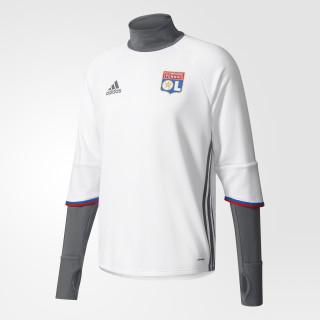 Olympique Lyon Trainingsoberteil White/Vista Grey/Red/Master Blue AP1418