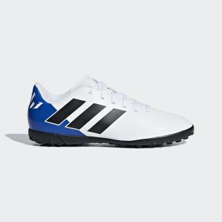 Chimpunes Nemeziz Messi Tango 18.4 Césped Artificial Niño FTWR WHITE/CORE BLACK/FOOTBALL BLUE DB2401