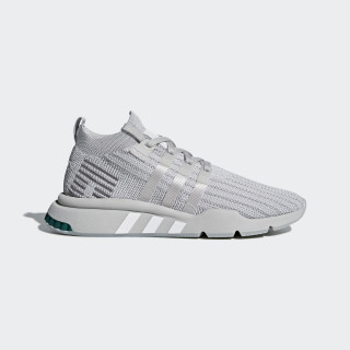 EQT Support Mid ADV Primeknit Shoes Grey / Silver Metallic / Grey B37372