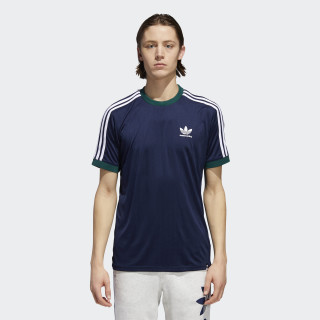 Camisa Clima Club NIGHT INDIGO/COLLEGIATE GREEN/WHITE CF5800