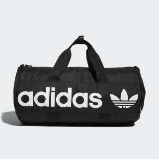 Paneled Roll Duffel Bag Black CJ6407