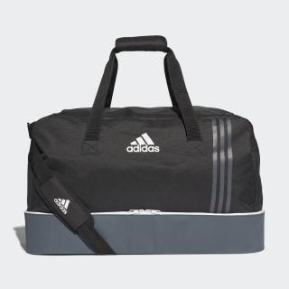 Tiro Team Bag with Bottom Compartment Large Black/Dark Grey/White B46122
