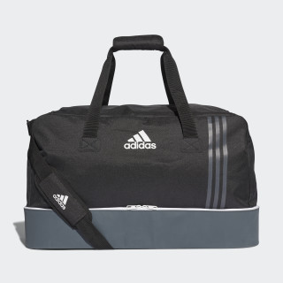 Tiro Team Bag with Bottom Compartment Large Black/Dark Grey/White B46122