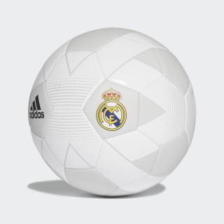 Pelota Real Madrid 2018 CREAM WHITE/GREY ONE F17/BLACK CW4156