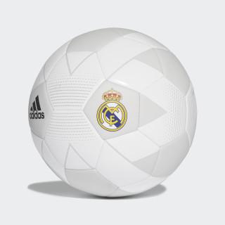 Pelota Real Madrid CREAM WHITE/GREY ONE F17/BLACK CW4156