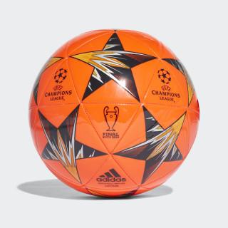 Bola UCL Finale Kiev Capitano SOLAR RED/BLACK/CORE BLACK/BRIGHT ORANGE CF1201