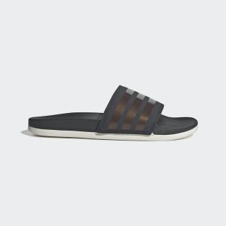 Adilette Comfort Slides Grey Six / Copper Met. / Raw White F97200