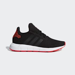Tenis SWIFT RUN J CORE BLACK/CORE BLACK/SOLAR RED B41798