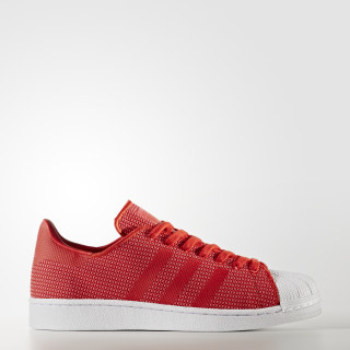 Superstar Shoes Red / Core Pink / Cloud White BY8711