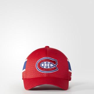 Canadiens Structured Flex Draft Cap Red BZ8718
