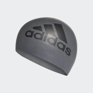 Silicone Graphic Swim Cap Grey Five/Black CE9931