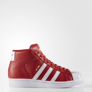 Pro Model Shoes Scarlet / Cloud White / Gold Metallic BY3730