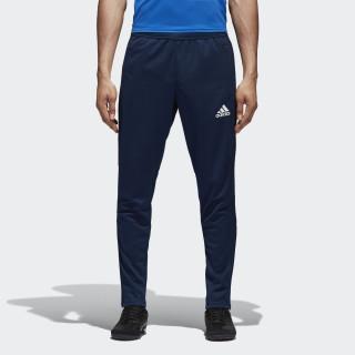 Pantalón de entrenamiento Tiro 17 Collegiate Navy/White BP9704