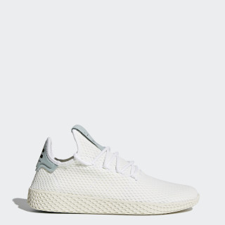 Pharrell Williams Tennis Hu Shoes Cloud White / Cloud White / Tactile Green BY8716