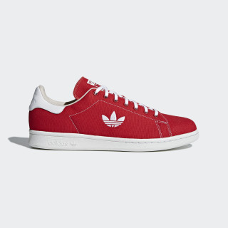 Stan Smith Shoes Scarlet / Cloud White / Clear Brown B37894