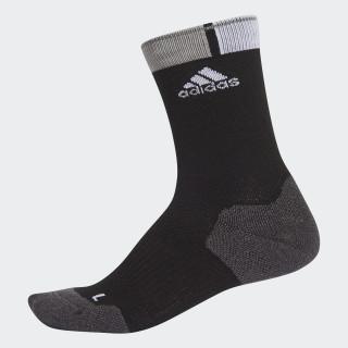 Cycling Wool Socks 1 Pair Black/Dark Grey Heather/White AP1160