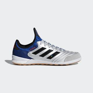 Copa Tango 18.1 Indoor Shoes Silver Metallic / Core Black / Football Blue DB2193