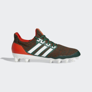 Ultra Boost Cleat Dark Green / Cloud White / Orange EE9291