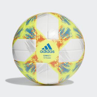 Conext 19 Top Training Ball White / Solar Yellow / Solar Red / Football Blue DN8637