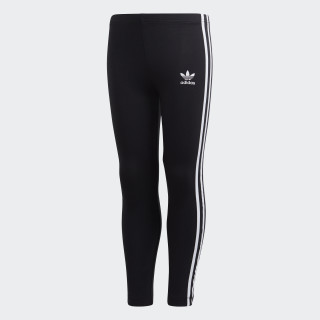 3-Stripes Leggings Black / White DV2845