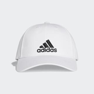 Boné Clássico de Seis Painéis White/Black S98150