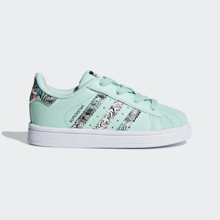 Superstar Schuh Clear Mint / Ftwr White / Ftwr White B75896