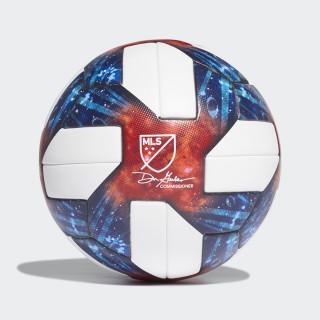Ballon de match officiel MLS White / Silver Metallic DN8698