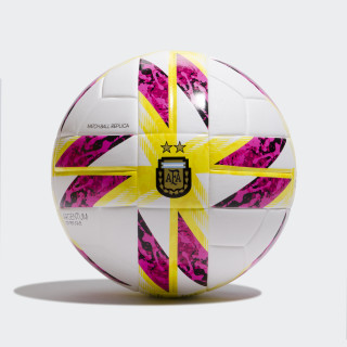 Pelota Top Replique Argentina 18 WHITE/BLACK/SOLAR YELLOW/BLUE CW5319