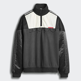 Sweat-shirt adidas Originals by AW Disjoin Black / Utility Black / Cream White / Power Red DT9502