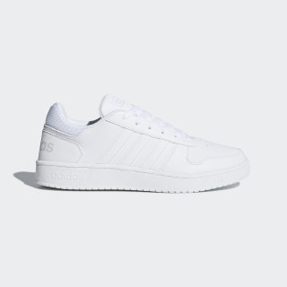 Zapatilla Hoops 2.0 Ftwr White / Ftwr White / Grey One DB1085